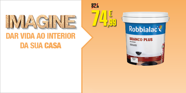 Tinta interior 15L Branco PLUS