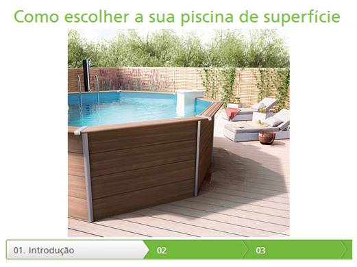 Piscina de enterrar delta leroy merlin for Piscinas de superficie rectangulares