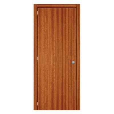 Porta de entrada mogno lisa 80cm leroy merlin for Porta leroy merlin