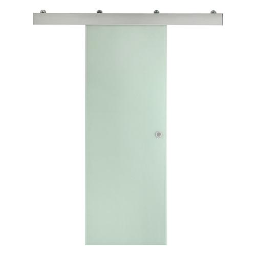 Porta de correr em vidro orlando 73cm leroy merlin for Porta asciugamani leroy merlin
