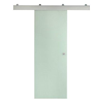 porta de correr em vidro orlando 73cm leroy merlin. Black Bedroom Furniture Sets. Home Design Ideas