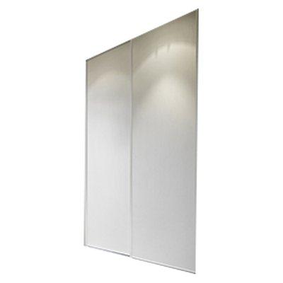 Pack 2 portas de correr branco 90cm leroy merlin - Bater leroy merlin ...