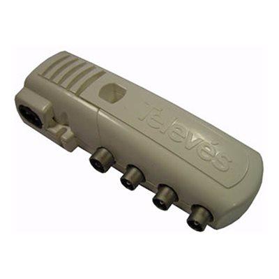 Amplificador interior 2 sa das 5528 telev s leroy merlin for Amplificador interior tdt