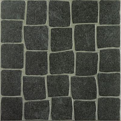 Pavimento cer mico 33x33cm cal ada alfama preto leroy - Pavimento ceramico exterior ...