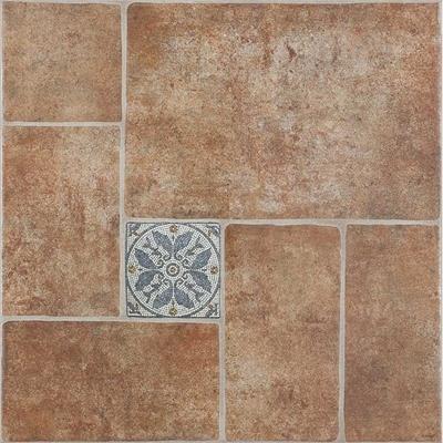 Pavimento cer mico 45x45cm barro rustico leroy merlin for Pavimento ceramico interior