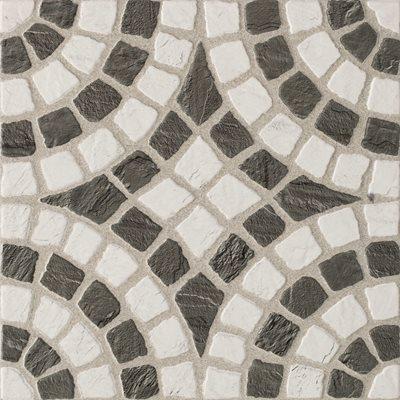 Pavimento cer mico 33x33cm portuguesa black white - Pavimento ceramico exterior ...