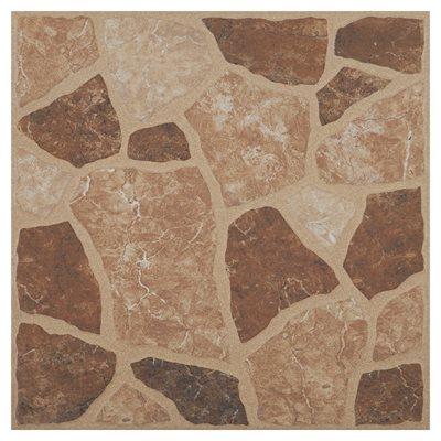 Pavimento cer mico 31 8x31 8cm guadix castanho leroy for Mosaico ceramico exterior