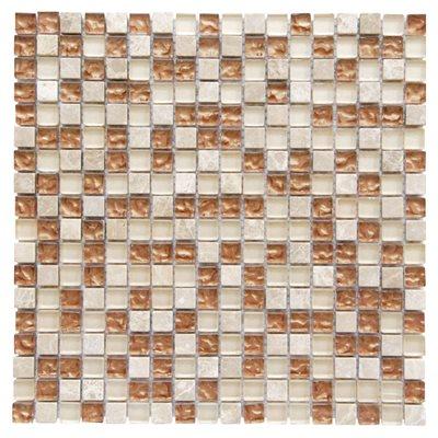 Pastilha 30x30cm internacional mix bege castanho leroy - Mosaico leroy merlin ...