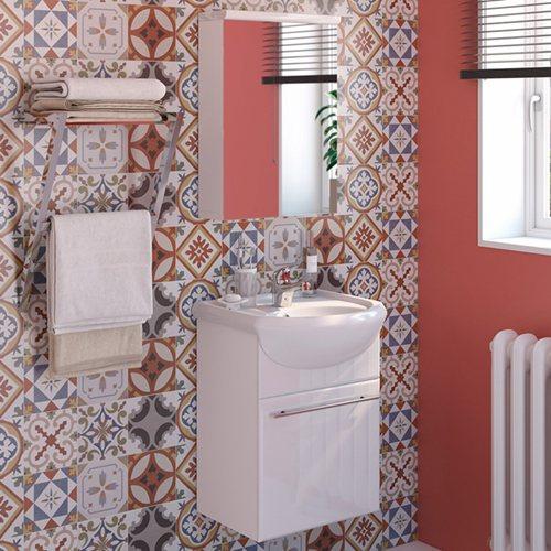 Armario Keter Para Exteriores ~ Móvel com lavatório e armário INFINITY BRANCO Leroy Merlin