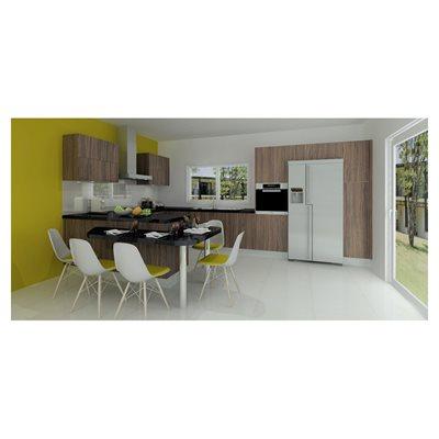 cozinha delinia wood olivier leroy merlin. Black Bedroom Furniture Sets. Home Design Ideas