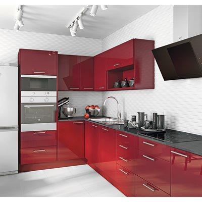 cozinha delinia galaxy bourdeaux leroy merlin. Black Bedroom Furniture Sets. Home Design Ideas