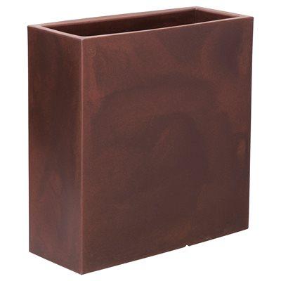 Floreira de resina junco 80x32cm bronze leroy merlin - Resina epossidica leroy merlin ...