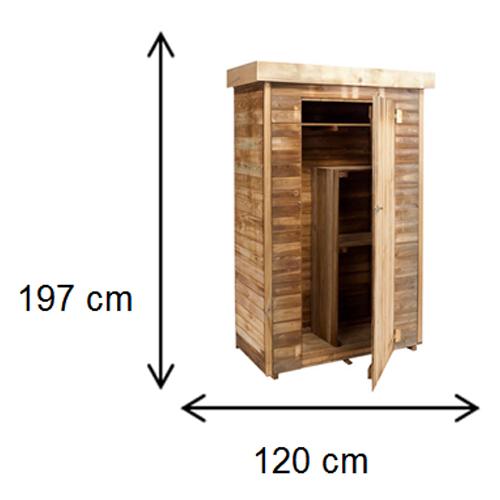 cerca de madeira para jardim leroy merlinArmário de madeira – THEO