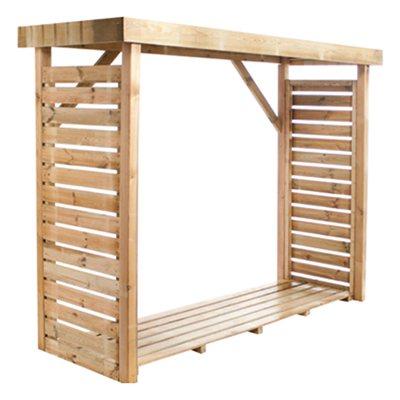 abrigo de madeira para lenha dallas leroy merlin. Black Bedroom Furniture Sets. Home Design Ideas