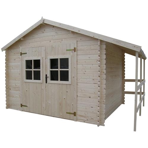 cerca de madeira para jardim leroy merlinAbrigo de madeira – BOURG