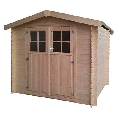 Abrigo de madeira kenai 258x219cm 19mm leroy merlin - Casetas de jardin aki ...