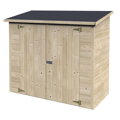 Arca de madeira box bicicleta leroy merlin for Armario exterior para guardar bicicletas