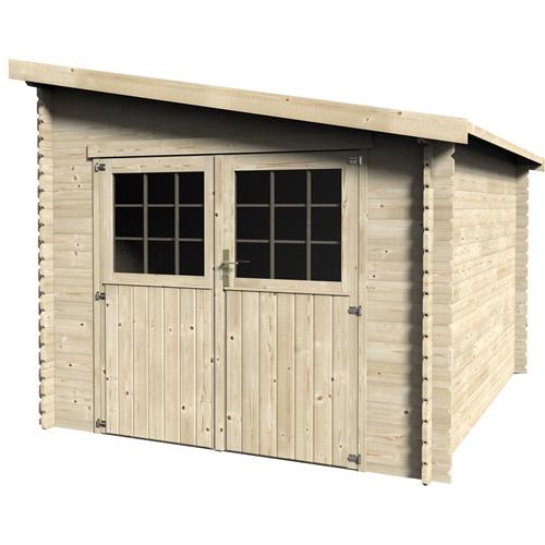 cerca de madeira para jardim leroy merlin Jardim Abrigos, arrumação