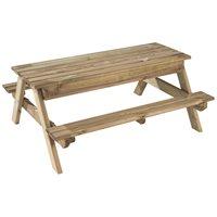 Abrigo de madeira kang plus leroy merlin for Mesa picnic madera leroy merlin