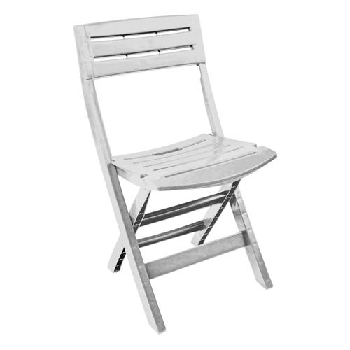 banco de jardim leroy:Cadeira de resina – CONIL BRANCA – Leroy Merlin