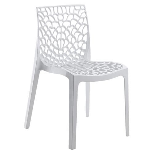 Cadeira de resina gruyer branca leroy merlin for Resina epossidica trasparente leroy merlin