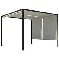 p rgula de alum nio ibiza 3x3m cinza leroy merlin. Black Bedroom Furniture Sets. Home Design Ideas