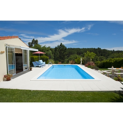 Piscina de enterrar aguarela leroy merlin for Piscinas desmontables para enterrar