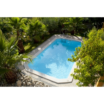 piscina de enterrar astral 246x550cm leroy merlin