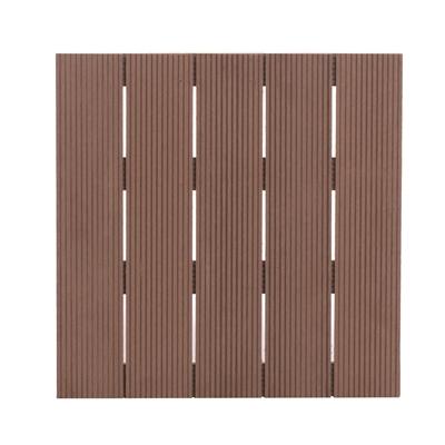 Deck de composite 50x50cm forest style 30mm teka leroy merlin - Composiet dekbord leroy merlin ...