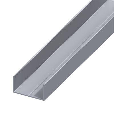Perfil em u alum nio 11 5x19 5mm leroy merlin - Perfil aluminio leroy merlin ...
