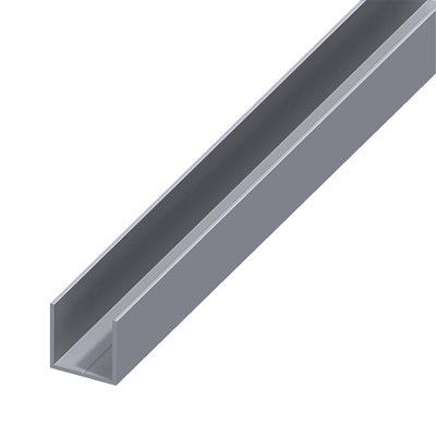 Perfil em u alum nio 7 5x1 0mm leroy merlin for Perfil u aluminio leroy merlin