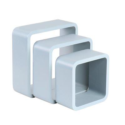 3 cubos 28x10cm cinzento leroy merlin - Cubos leroy merlin ...