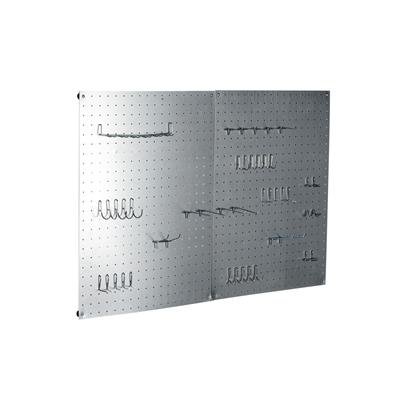painel perfurado 45x60 metal leroy merlin. Black Bedroom Furniture Sets. Home Design Ideas
