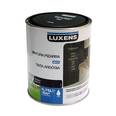 Tinta de ard sia luxens preto leroy merlin for Pintura para radiadores leroy merlin