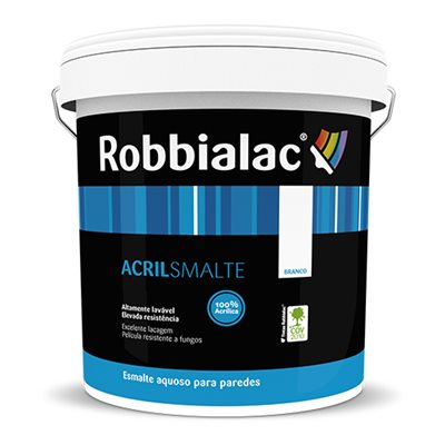 Tinta lisa interior e exterior robbialac acrilsmalte 15l - Pintura exterior leroy merlin ...