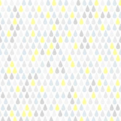 Papel de parede gotas azul amarelo leroy merlin - Papel engomado leroy merlin ...