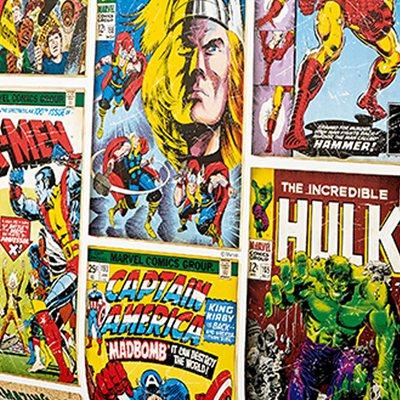 Papel de parede comic marvel leroy merlin - Papel pared comic ...