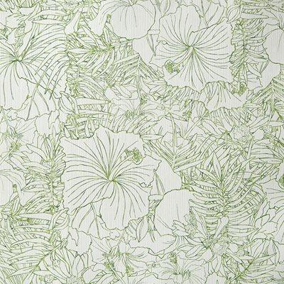 Papel de parede flor tropical verde leroy merlin - Papel de pared leroy merlin ...