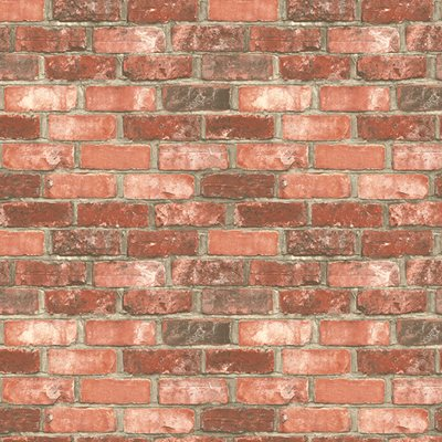 Papel de parede ladrilho tijolo leroy merlin for Papel pintado imitacion ladrillo