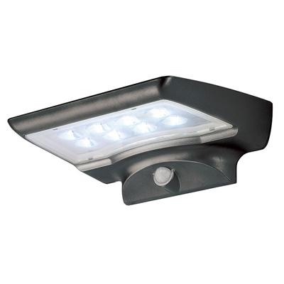 Aplique exterior led solar 4w leroy merlin Aplique solar exterior