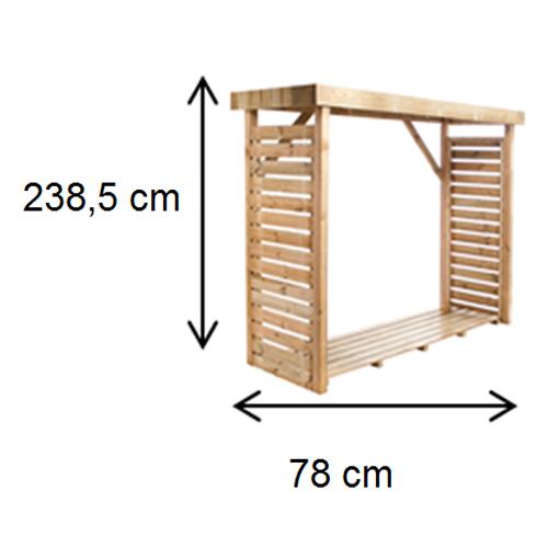 cerca de madeira para jardim leroy merlinAbrigo de madeira para lenha
