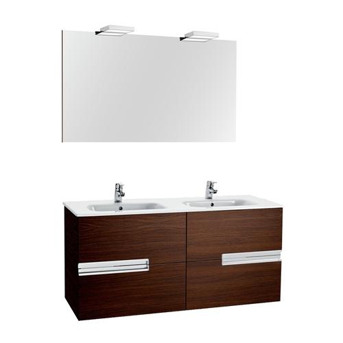 Armario Keter Para Exteriores ~ Móvel com lavatório, espelho e aplique VICTORIA N CARVALHO 120 Leroy Merlin